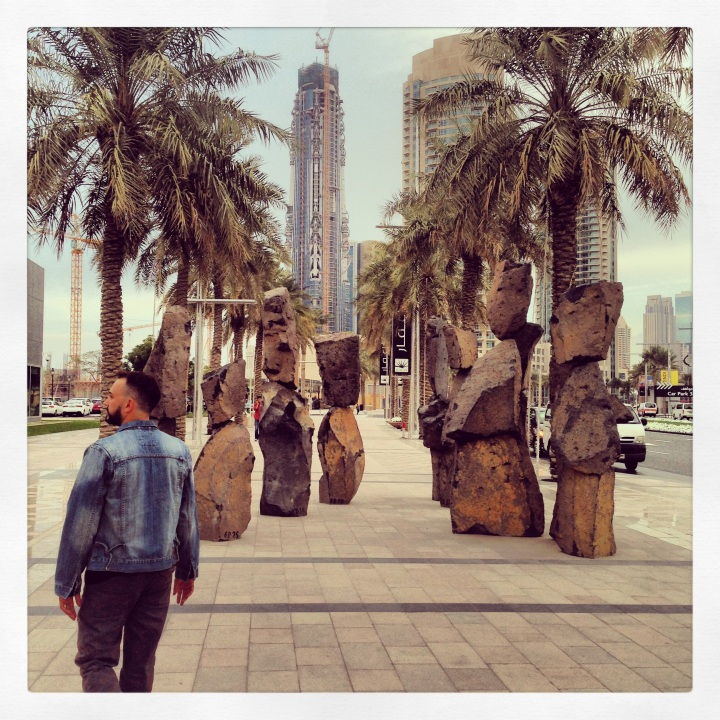 We strolled along Emaar.