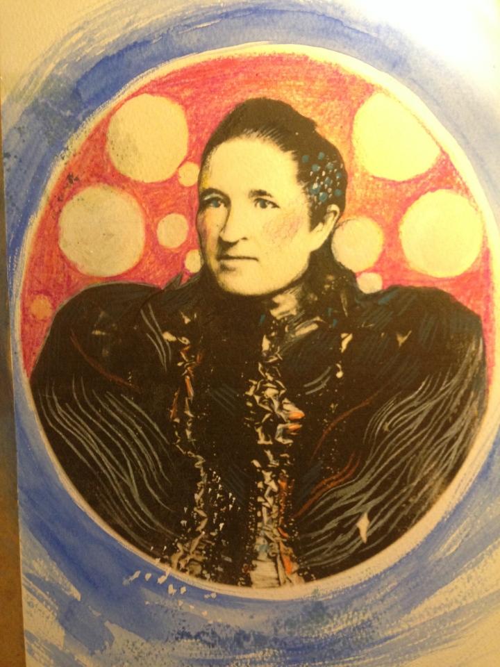 Detail of Illustration - Nonnie de La Rey