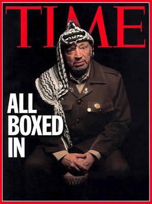 Gregory Heisler's portrait of Jasser Arafat for 2002 Time Magazine Cover