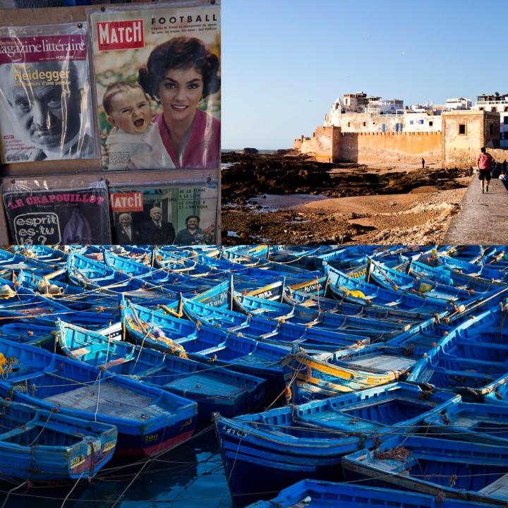 Essaouira blue