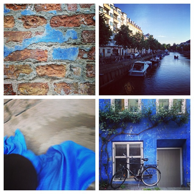 Finding the blue in Copenhagen