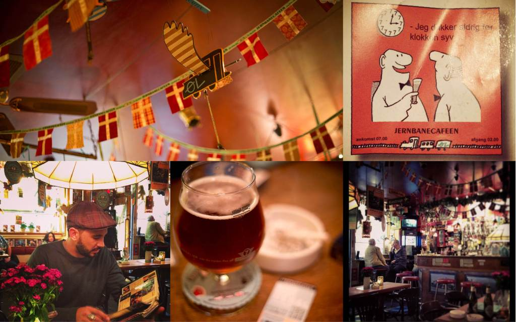 Day 1: Jernbanecafeen - The Railway Pub