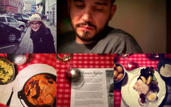 Day 1: Frk. Barners Kaelder for dinner.