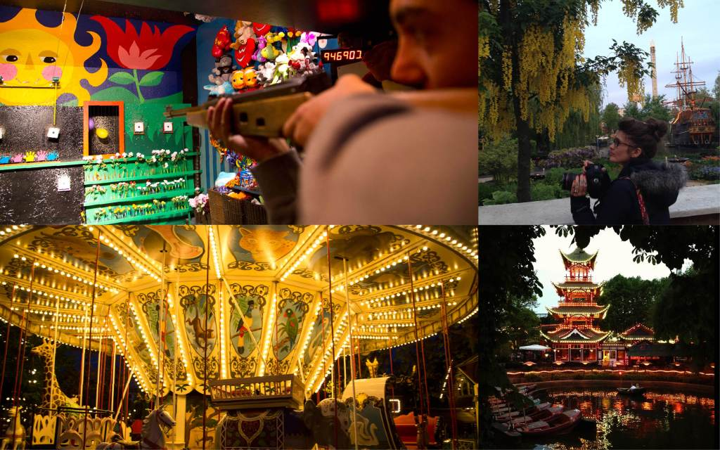 Day 4: Playing games at Tivoli Gardens