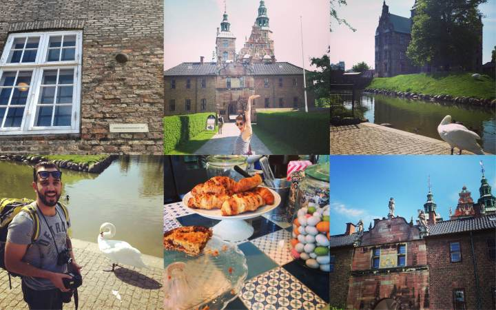 Day 4: Cannonball in the wall and lunch at Rosenborg castle