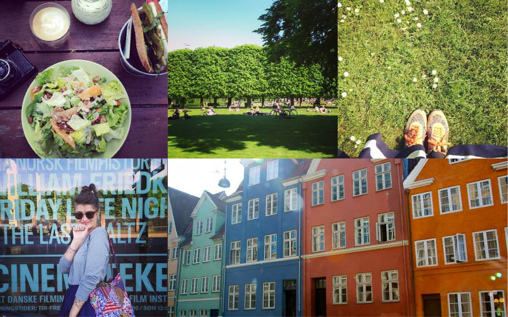 Day 4: inch at Rosenborg castle, the park and the film institute