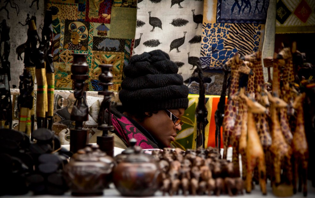 Midday Prayer - Greenmarket Square, Cape Town, South Africa