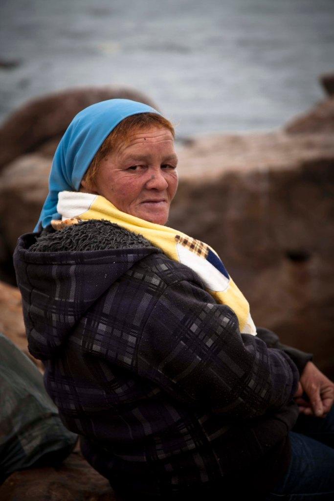 Female Fisherman - Elandsbay, South Africa