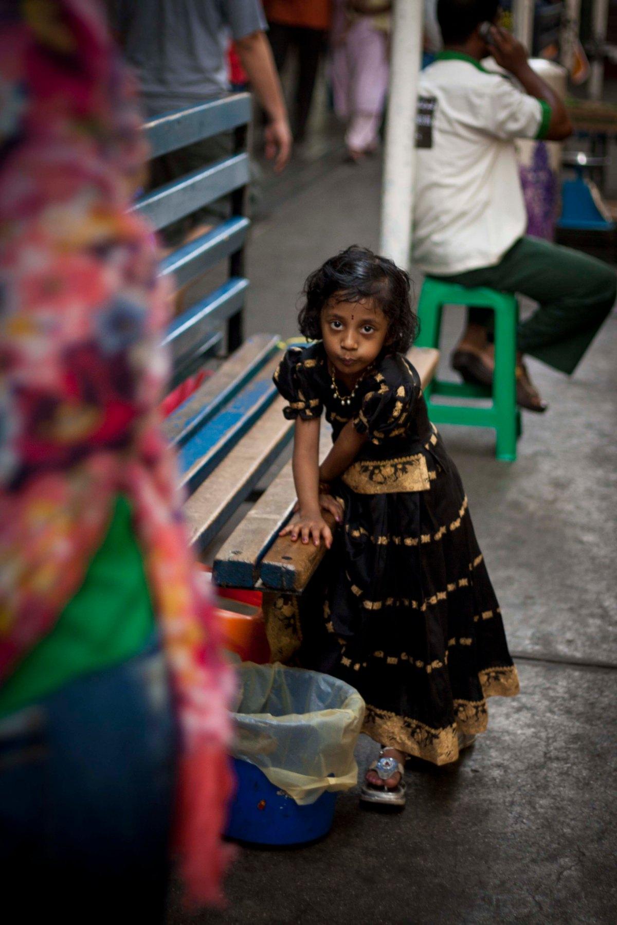 Young Market Girl - Fruit and Vegetable Market, Dubai, UAE