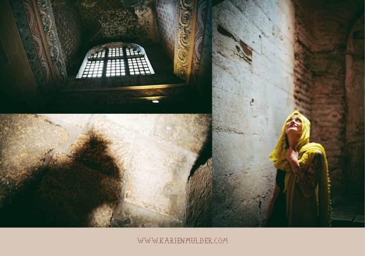Iside the Hagia Sophia, Istanbul 03
