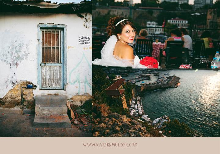 Harbour and Bride, Old Town, Antalya