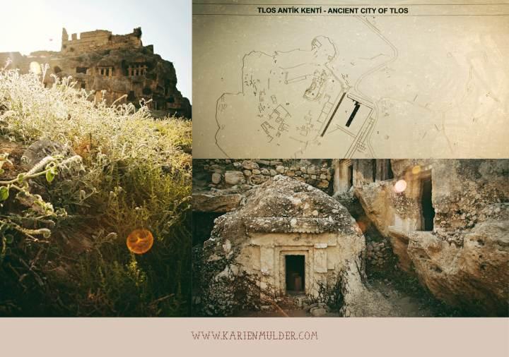 Tlos, Ruins