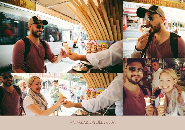Turksih Ice cream